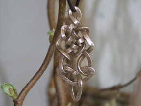 Pendant trefoil in Stainless Steel