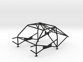 Roll Cage - M3-FIA-Style - 1/10 in Black Natural Versatile Plastic