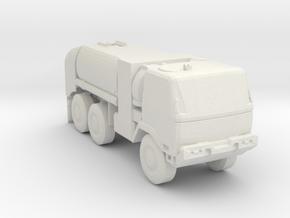 M1091 Fuel Tanker 1:160 scale in White Natural Versatile Plastic