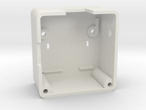 Case for Wemos D1 Mini ESP8266 LED & Level Shifter in White Natural Versatile Plastic
