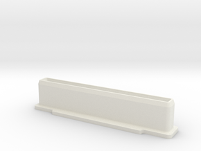 NES Cartridge Dust Plug in White Natural Versatile Plastic