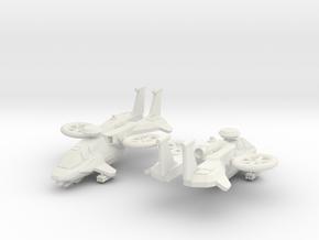 ARVX-1B Arapaho (LAGM) x2 in White Natural Versatile Plastic