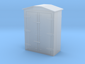 8 Way Relay Box in Smooth Fine Detail Plastic