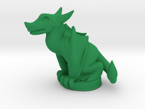 Wyvern Dragon (Chthonic Souls Edition) in Green Processed Versatile Plastic