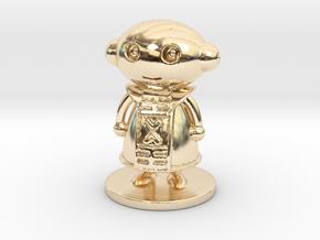 Zeno in 14k Gold Plated Brass