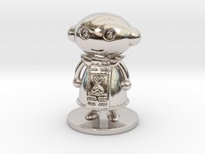 Zeno in Rhodium Plated Brass