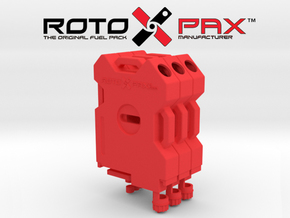TR10009 TRX-4 RotopaX in Red Strong & Flexible Polished