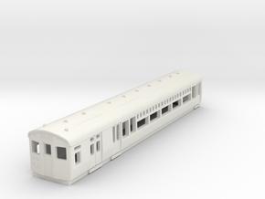 o-148-lner-lugg-3rd-motor-coach in White Natural Versatile Plastic