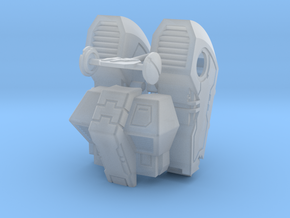 Standard Mech Booster Packs and Torso in Smooth Fine Detail Plastic