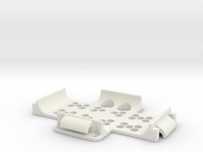 11018R0 Power+Fix Ritchey in White Natural Versatile Plastic