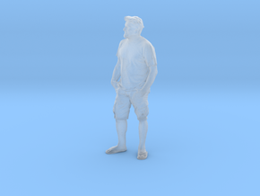 Printle C Homme 365 - 1/76 - wob in Smooth Fine Detail Plastic