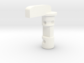 MP 15-22 Reversible Safety (Basic) in White Processed Versatile Plastic