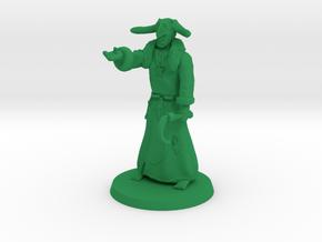 Druidic Warlock in Green Processed Versatile Plastic