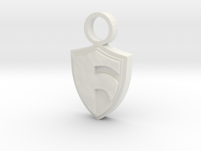 Shield of Faith in White Natural Versatile Plastic