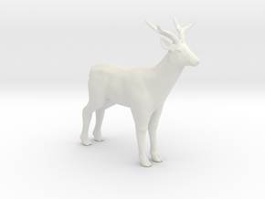Printle Thing Deer - 1/24 in White Natural Versatile Plastic