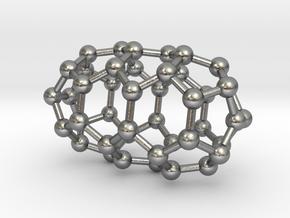 0632 Fullerene c44-3 d3d in Natural Silver