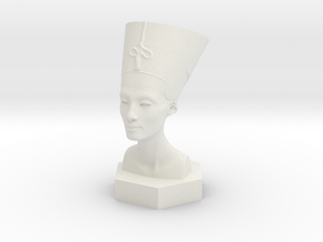 pharaoh in White Natural Versatile Plastic