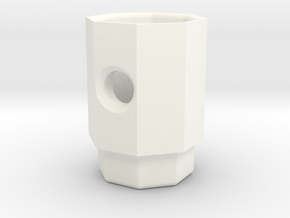 PRINTSTRUMENT 01 in White Strong & Flexible Polished