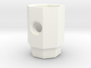 PRINTSTRUMENT 01 in White Processed Versatile Plastic