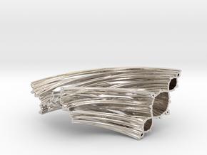 Quarter Unit Circle Julia Sets (135°, thick) in Platinum