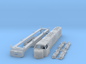 HO Scale KM ML4000 Hood unit in Smooth Fine Detail Plastic
