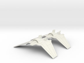 Tauri F-302 Flight: 1/270 scale in White Natural Versatile Plastic