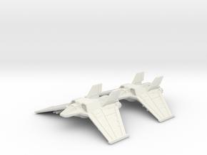 Tauri F/A-302c Flight: 1/270 scale in White Natural Versatile Plastic