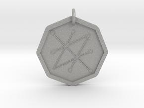 Seal of Saturn in Aluminum