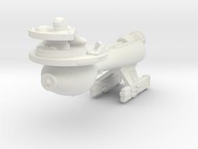 3125 Scale Klingon B10B Boom WEM in White Natural Versatile Plastic