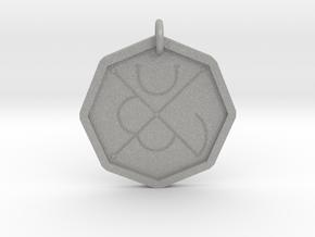 Seal of Mars in Aluminum