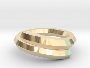 Fredskov Ring in 14k Gold Plated: 6 / 51.5