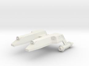 3125 Scale LDR Scout (SC) CVN in White Natural Versatile Plastic