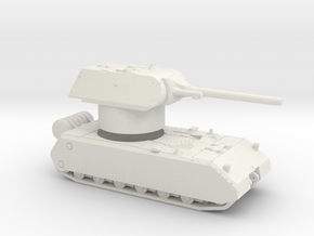 Maus 1-144 scale in White Strong & Flexible