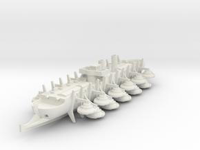 1/700 Sondor Ram Bireme in White Natural Versatile Plastic