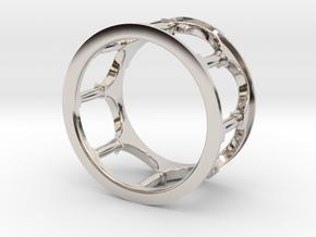 Hacienda Ring in Platinum: 4.5 / 47.75