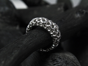 Cavity_Band in Rhodium Plated: 6 / 51.5