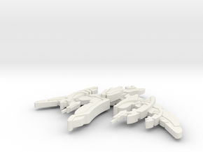 Breen Fighter Modified in White Natural Versatile Plastic