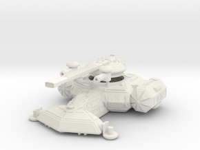 MG144-Aotrs-17 Hammer of Hatred Super Heavy Tank in White Natural Versatile Plastic