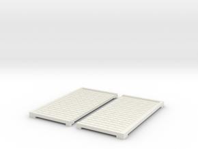 Goban for the Blind (Igo, Baduk, WeiQI) in White Natural Versatile Plastic