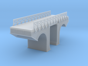 Polish Arched Bridge 4 Z Scale in Smooth Fine Detail Plastic