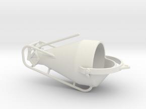 1:50 Concretebucket 750L  , Betonkubel 750L in White Strong & Flexible