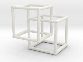 Boxes  in White Natural Versatile Plastic: Small