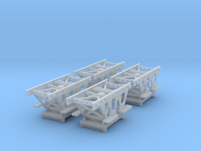 """1/96 IJN Trolley for trailer """"Jake"""" in Smooth Fine Detail Plastic"""
