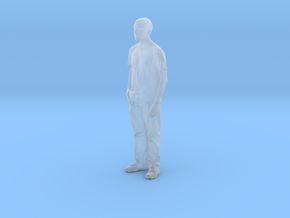 Printle C Homme 028 - 1/87 - wob in Smooth Fine Detail Plastic