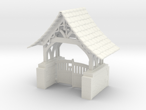 Lych Gate in White Strong & Flexible