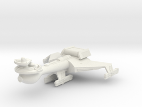 3788 Scale Klingon B10B Battleship WEM in White Natural Versatile Plastic