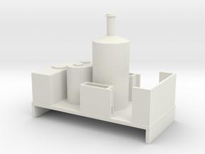Freelance Vertical Boiler Locomotive 1 in White Natural Versatile Plastic