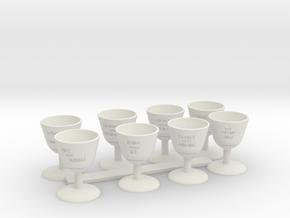 game of thrones pawns  in White Natural Versatile Plastic