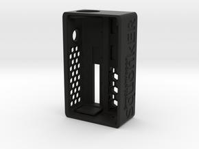 SwedishVaper SquonkER Style D body  in Black Natural Versatile Plastic