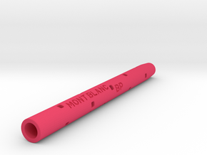 Adapter: Mont Blanc BP To Uni SXR-80 in Pink Processed Versatile Plastic